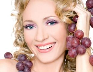 Сезонная косметика: маски из винограда