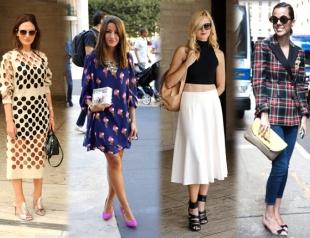 Уличный стиль на Неделе моды в Нью-Йорке. Часть 1