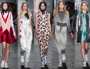 Неделя моды в Нью-Йорке: Marc by Marc Jacobs весна-лето 2014