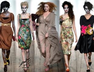 Неделя моды в Лондоне: Vivienne Westwood Red Label весна-лето 2014