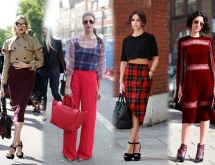 Уличный стиль на Неделе моды в Лондоне. Часть 1
