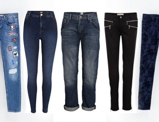 Модные джинсы сезона осень-зима 2013-2014