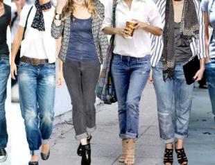 Как выбрать модные джинсы по типу фигуры