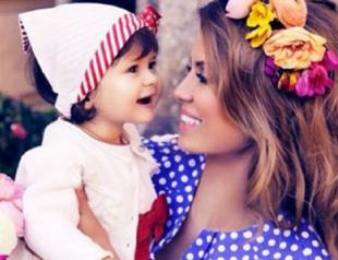 Виктория Боня показала новые фото дочери