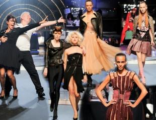 Неделя моды в Париже: Jean Paul Gaultier весна-лето 2014