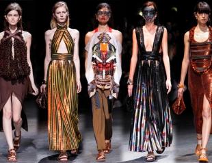 Неделя моды в Париже: Givenchy весна-лето 2014