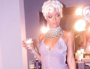 Рианна показала фото со съемок нового клипа Pour It Up