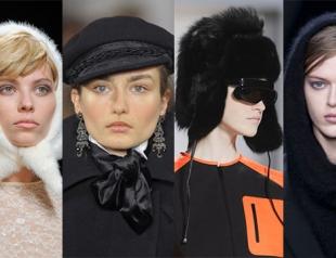 Модные шапки сезона осень-зима 2013-2014