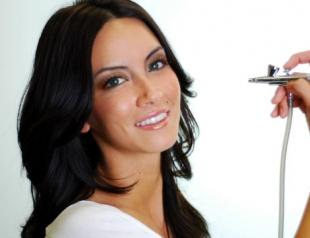 Аэромакияж: особенности