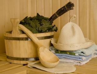 Осенние косметические процедуры в бане и сауне