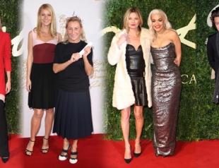 British Fashion Awards 2013: красная дорожка и победители