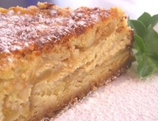 Как приготовить насыпной яблочный пирог