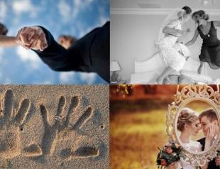 Лучшие идеи для свадебной фотосессии