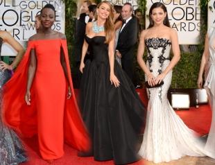 Золотой Глобус 2014: лучшие наряды звезд