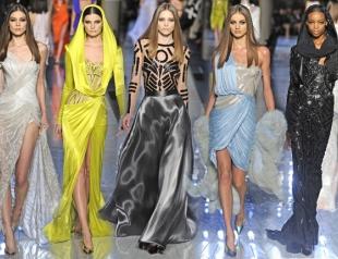 Показ Atelier Versace SS 2014 открыл Неделю высокой моды в Париже