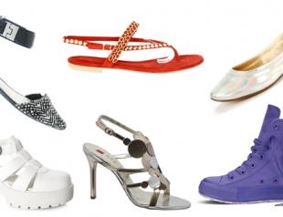 Коллекция обуви Intertop весна-лето 2014