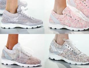 Кроссовки от кутюр Chanel