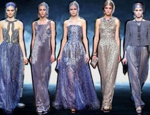 Неделя высокой моды в Париже: Giorgio Armani Privé весна-лето 2014