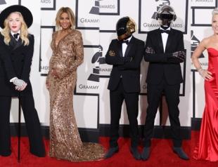 Grammy 2014: красная дорожка