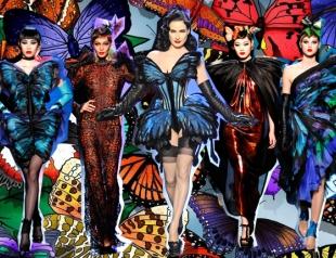Неделя высокой моды в Париже: Jean Paul Gaultier весна-лето 2014