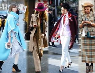 Уличный стиль на Неделе высокой моды в Париже