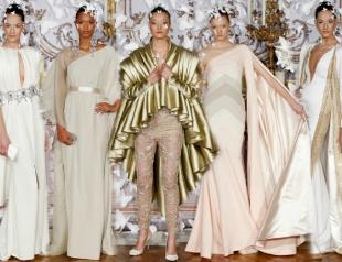 Неделя высокой моды в Париже: Alexis Mabille весна-лето 2014