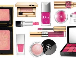 Топ 10 косметических новинок в розовых тонах