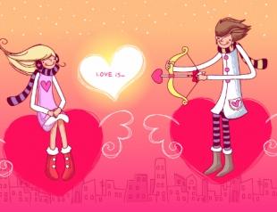 Прикольные поздравления с Днем святого Валентина 2015