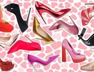Топ 14 туфель ко Дню Валентина из киевских магазинов