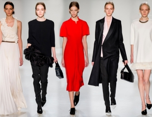 Неделя моды в Нью-Йорке: Victoria Beckham осень-зима 2014-2015