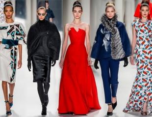 Неделя моды в Нью-Йорке: Carolina Herrera осень-зима 2014-2015