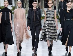 Неделя моды в Нью-Йорке: Hugo Boss осень-зима 2014-2015