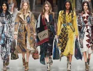 Неделя моды в Лондоне: Burberry Prorsum осень-зима 2014-2015
