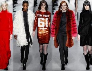 Неделя моды в Лондоне: Tom Ford осень-зима 2014-2015