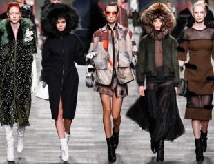 Неделя моды в Милане: Fendi осень-зима 2014-2015
