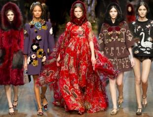Неделя моды в Милане: Dolce&Gabbana осень-зима 2014-2015