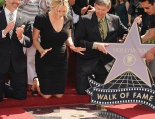 Кейт Уинслет получила звезду на голливудской Аллее Славы