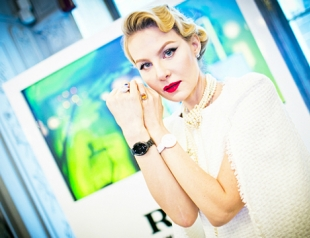 Рената Литвинова представила новую модель часов Rado