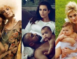 Самые красивые снимки звездных мам и детей