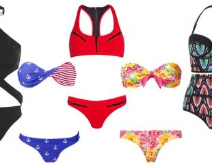Модные купальники сезона лето 2014: что, где, почем