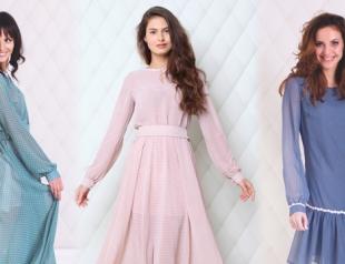 Платье в горошек - модный тренд весны 2014