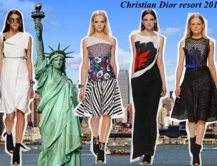 Круизная коллекция Christian Dior resort 2015