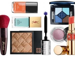 Обзор летних коллекций макияжа от известных брендов