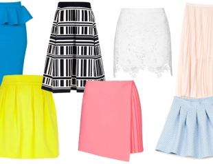 Модные юбки лета 2014: что, где, почем