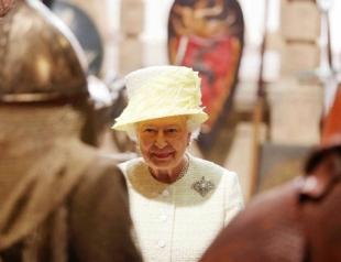 Королева Елизавета посетила съемочную площадку Игры престолов