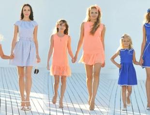 Анастасия Иванова создала коллекцию для мам и дочек