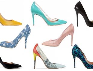 Туфли-лодочки: где купить и с чем носить этим летом