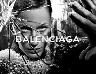 Жизель Бундхен с прической под мальчика для кампании Balenciaga