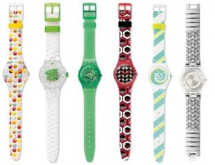 Коллекция часов Swatch лето 2014