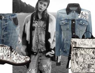 Художник Йошиясу Тамура создал коллекцию для McQ by Alexander McQueen